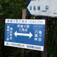 釈迦ケ岳三角点